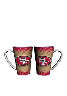 Boelter 16-oz NFL San Francisco 49ers 2-pack Latte Coffee Mug Set