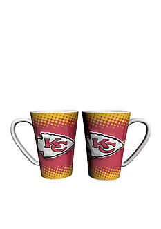 Boelter 16-oz. NFL Kansas City Chiefs 2-pack Latte Coffee Mug Set