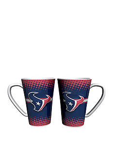 Boelter 16-oz. NFL Houston Texans 2-pack Latte Coffee Mug Set