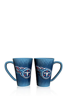 Boelter 16-oz. NFL Tennessee Titans 2-pack Latte Coffee Mug Set
