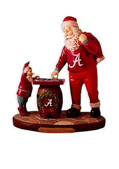 Memory Company 8-in. x 7-in. University of Alabama Santa Figurine