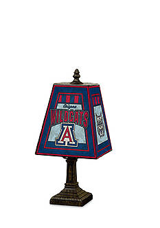 Memory Company NCAA University of Arizona Wildcats 14-in. Art-Glass table Lamp