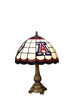 Memory Company NCAA University of Arizona Wildcats Tiffany Stained Glass Table Lamp