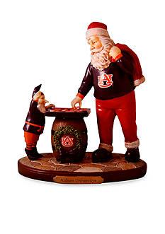 Memory Company 8-in. x 7-in. Auburn University Santa Figurine