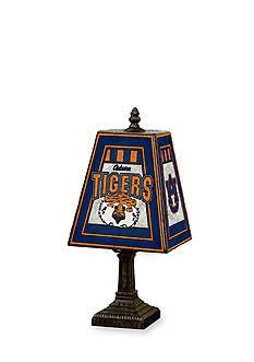 Memory Company NCAA Auburn University Aubie Tiger Tiffany Stained Glass Table Lamp