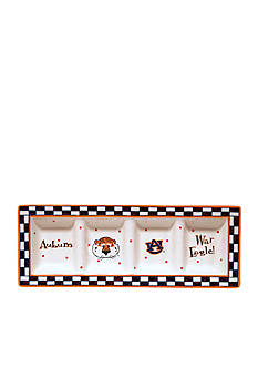 Memory Company Auburn Tigers Game Day Relish Tray