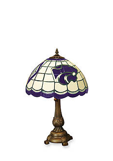 Memory Company NCAA Kansas State University Wildcats Tiffany Stained Glass Table Lamp