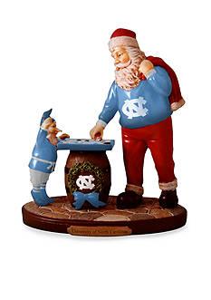 Memory Company 8-in. x 7-in. University of North Carolina Santa Figurine