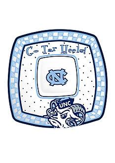 UNC Tarheels Game Day Chip & Dip Platter