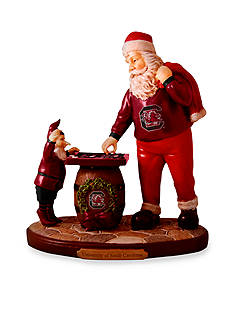 Memory Company 8-in. x 7-in. University of South Carolina Santa Figurine