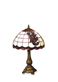 Memory Company NCAA University of South Carolina Gamecocks Tiffany Stained Glass Table Lamp