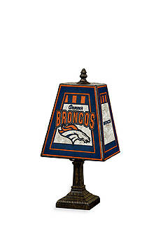 Memory Company NFL Denver Broncos 14-in. Art-Glass Lamp