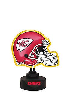 Memory Company NFL Kansas City Chiefs Neon Helmet Desk Lamp