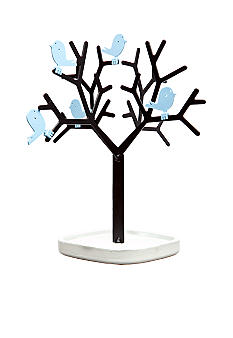 Sarah Peyton Jewelry Tree with Removable Blue Birds