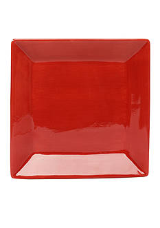 Home Accents CARIBE SQ DINNER RED