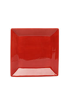 Home Accents CARIBE SQ SALAD RED