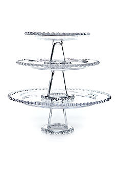Home Accents Beaded 3-tier Server