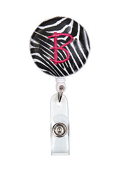 Home Accents® Monogram Badge Holder