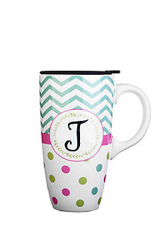 Home Accents Monogram Boxed Latte Mug