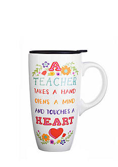 Home Accents Teacher Boxed Latte Mug