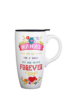 Home Accents Nana Boxed Latte Mug