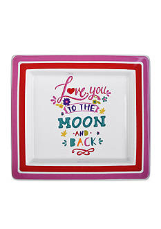 Home Accents Love to Moon Tray