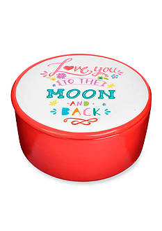 Home Accents Love to Moon Trinket Jar