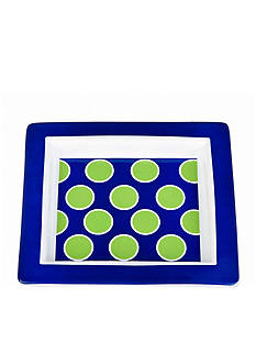 Home Accents Polka Dot Trinket Tray