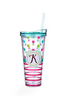 Home Accents Monogram Tumbler