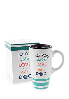 Home Accents 20-oz. 'All You Need Is Love And A Dog' Latte Mug