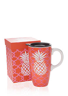 Home Accents Pineapple Boxed Latte Mug