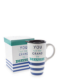 Home Accents 20-oz. 'You Put the Grand In Grandpa' Latte Mug