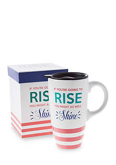 Home Accents 20-oz. Rise & Shine Latte Mug