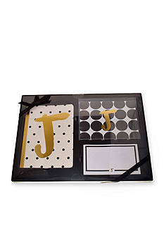 Home Accents 3-Piece Monogram Stationary Set