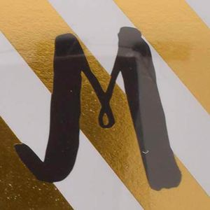 For The Home: Home Accents Home Decor: Letter M Home Accents 3-Piece Monogram Stationary Set
