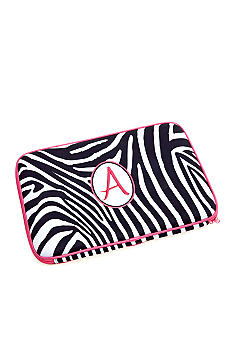 Home Accents Zebra Monogram Laptop Case