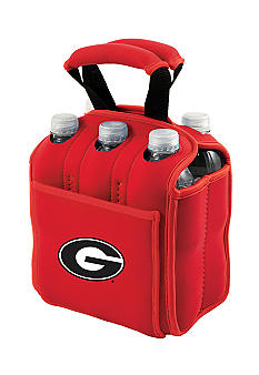 Picnic Time Georgia Bulldogs Beverage Buddy 6-Pack - Online Only