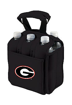 Picnic Time Georgia Bulldogs Beverage Buddy Six Pack - Online Only