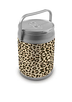 Picnic Time Cheetah Print 10-Can Cooler