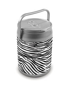 Picnic Time Zebra Print 10-Can Cooler - Online Only