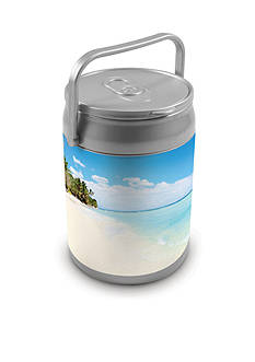 Picnic Time Beach Scene 10-Can Cooler
