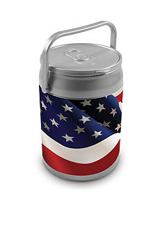 Picnic Time American Flag 10-Can Cooler