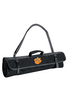 Picnic Time Clemson Tigers 3-piece BBQ Tote - Online Only