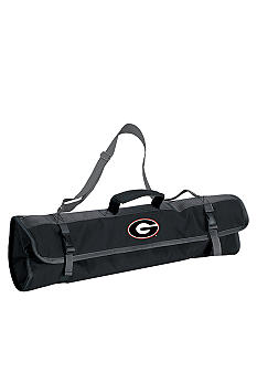 Picnic Time Georgia Bulldogs 3-piece BBQ Tote - Online Only