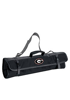 Picnic Time Georgia Bulldogs 3-Piece Tool Set and BBQ Tote