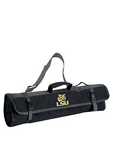 Picnic Time LSU Tigers 3-piece BBQ Tote - Online Only