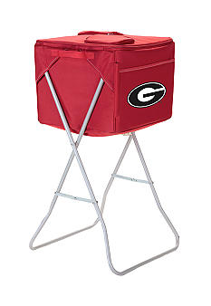 Picnic Time Georgia Bulldogs Party Cube Cooler - Online Only