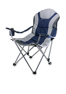 Picnic Time Reclining Camp Chair