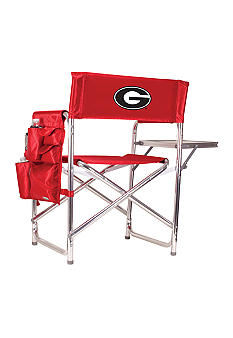 Picnic Time Georgia Bulldogs Sports Chair - Online Only