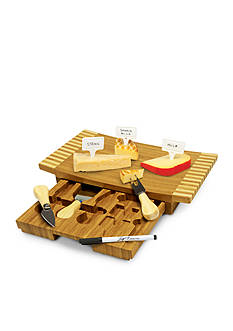 Picnic Time Concavo Cheese Board and Tool Set - Online Only
